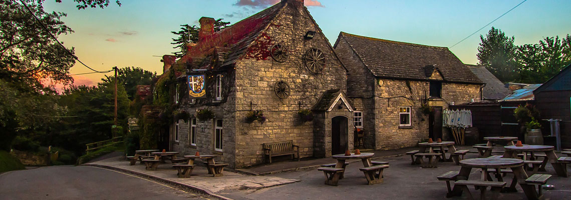 Quiet country pubs